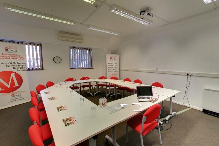 Classroom at Menta, Suffolk Enterprise Centre