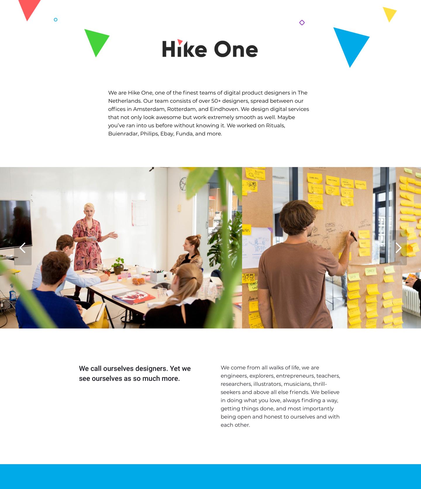 Hike One Careerpage
