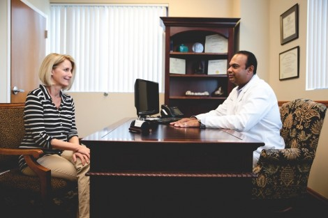 Dr. Raja Consultation With Patient