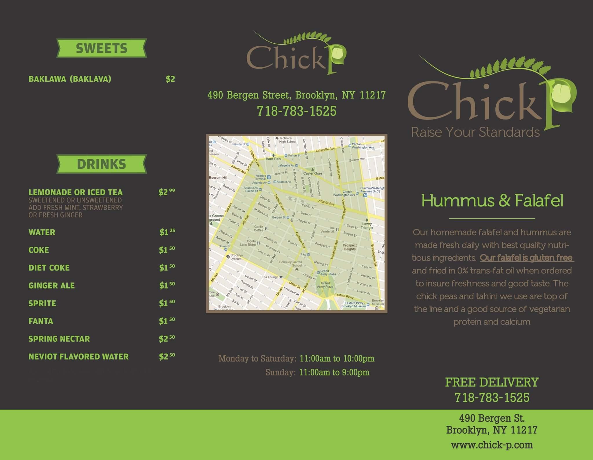 Chick P info