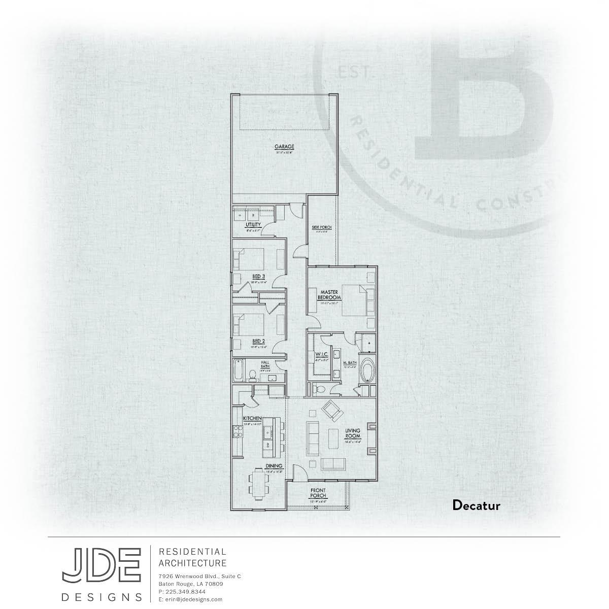 Decatur B Floorplan