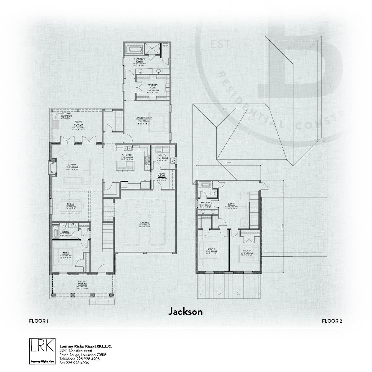 Jackson A Floorplan