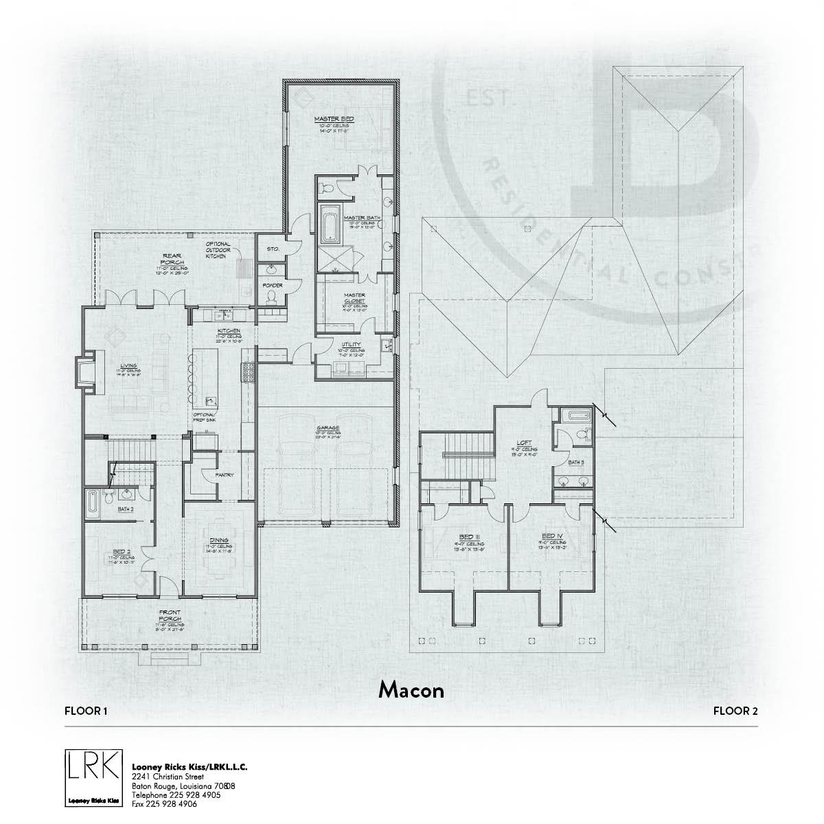 Macon 2 Floorplan