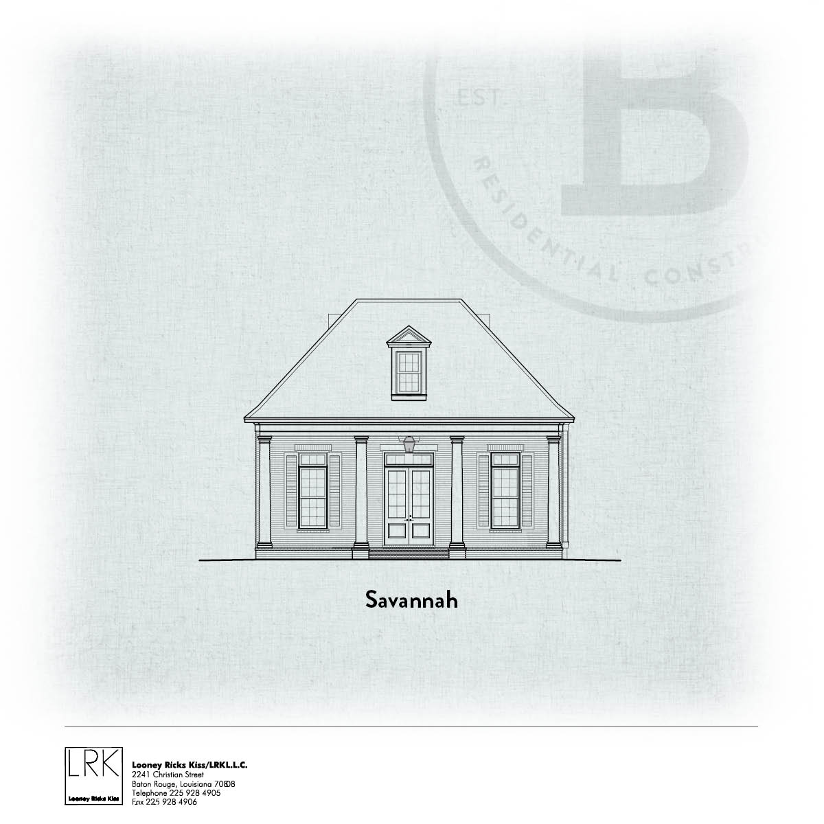 Savannah Elevation