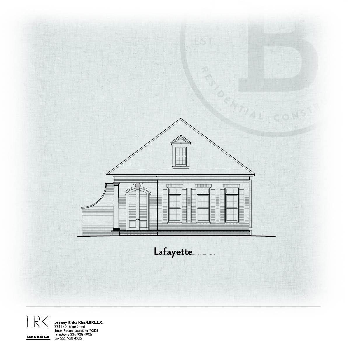 Lafayette Elevation