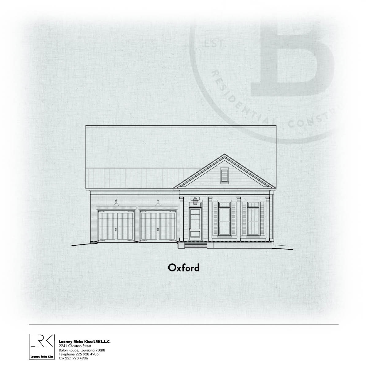 Oxford Elevation