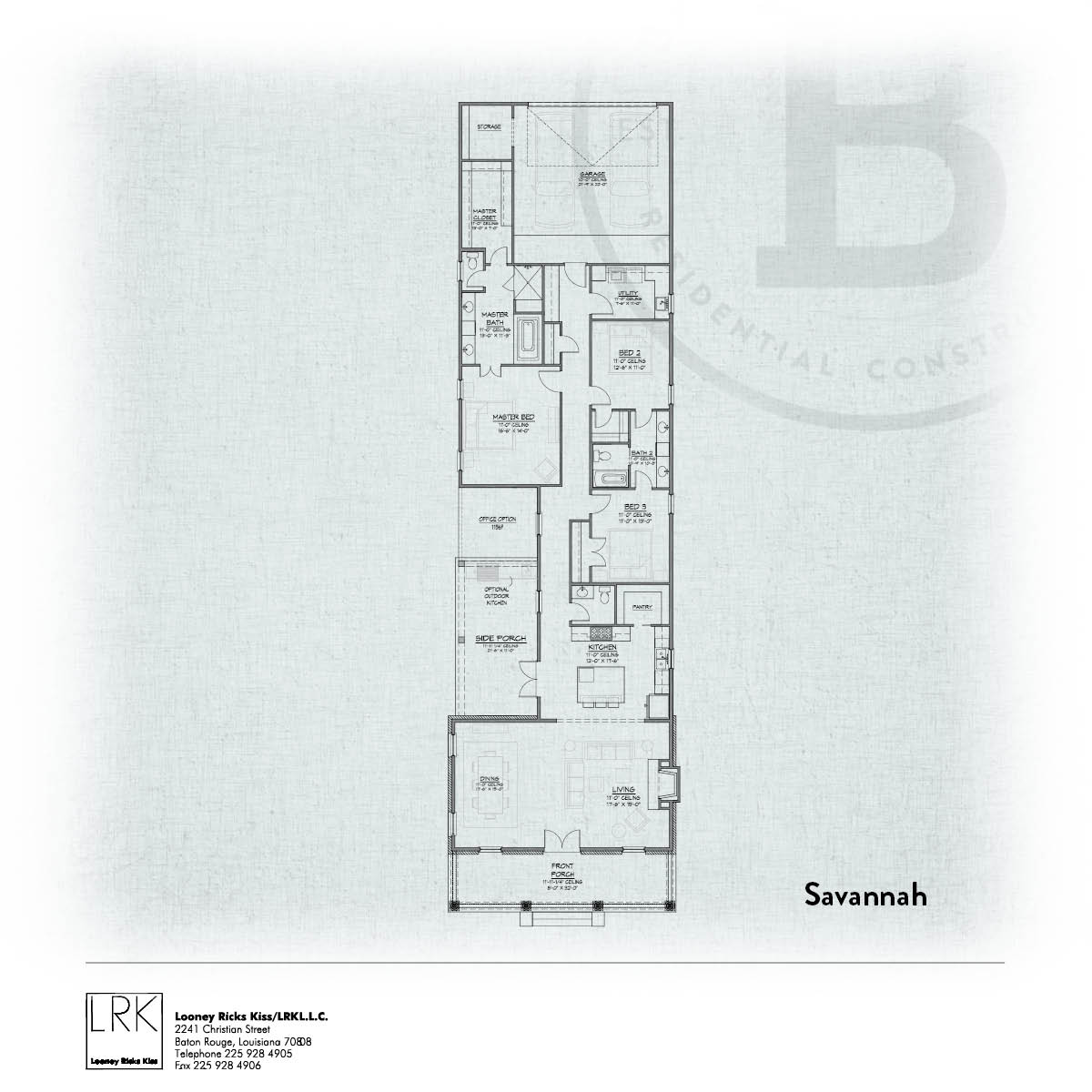 Savannah C Floorplan