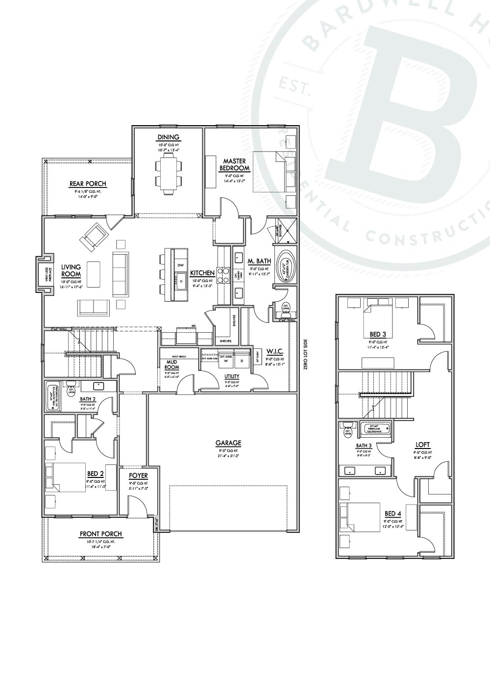 Claiborne Floorplan