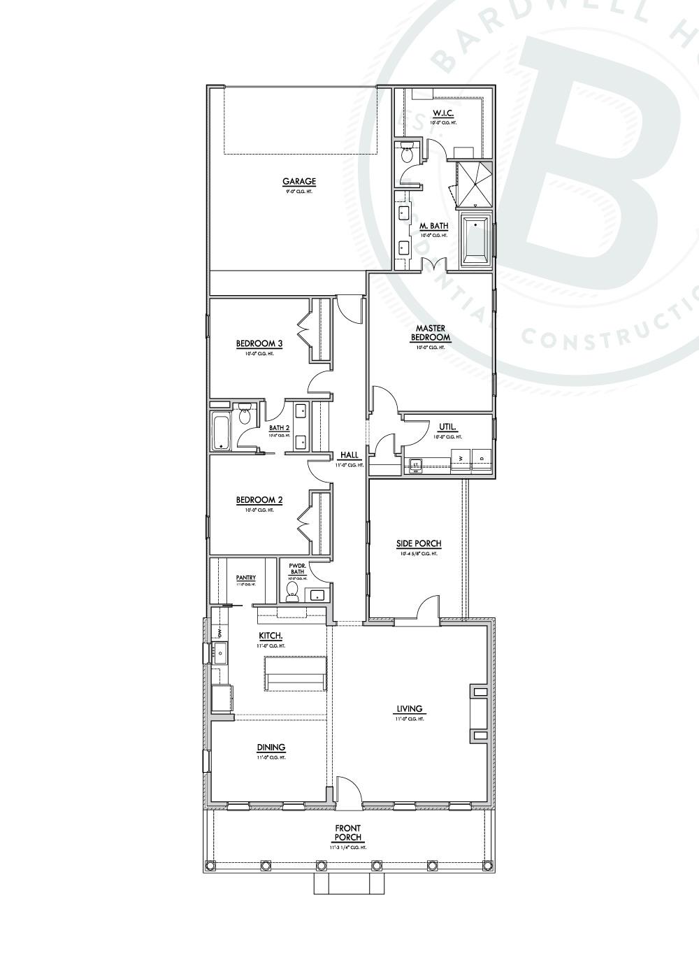 Naples B Floorplan