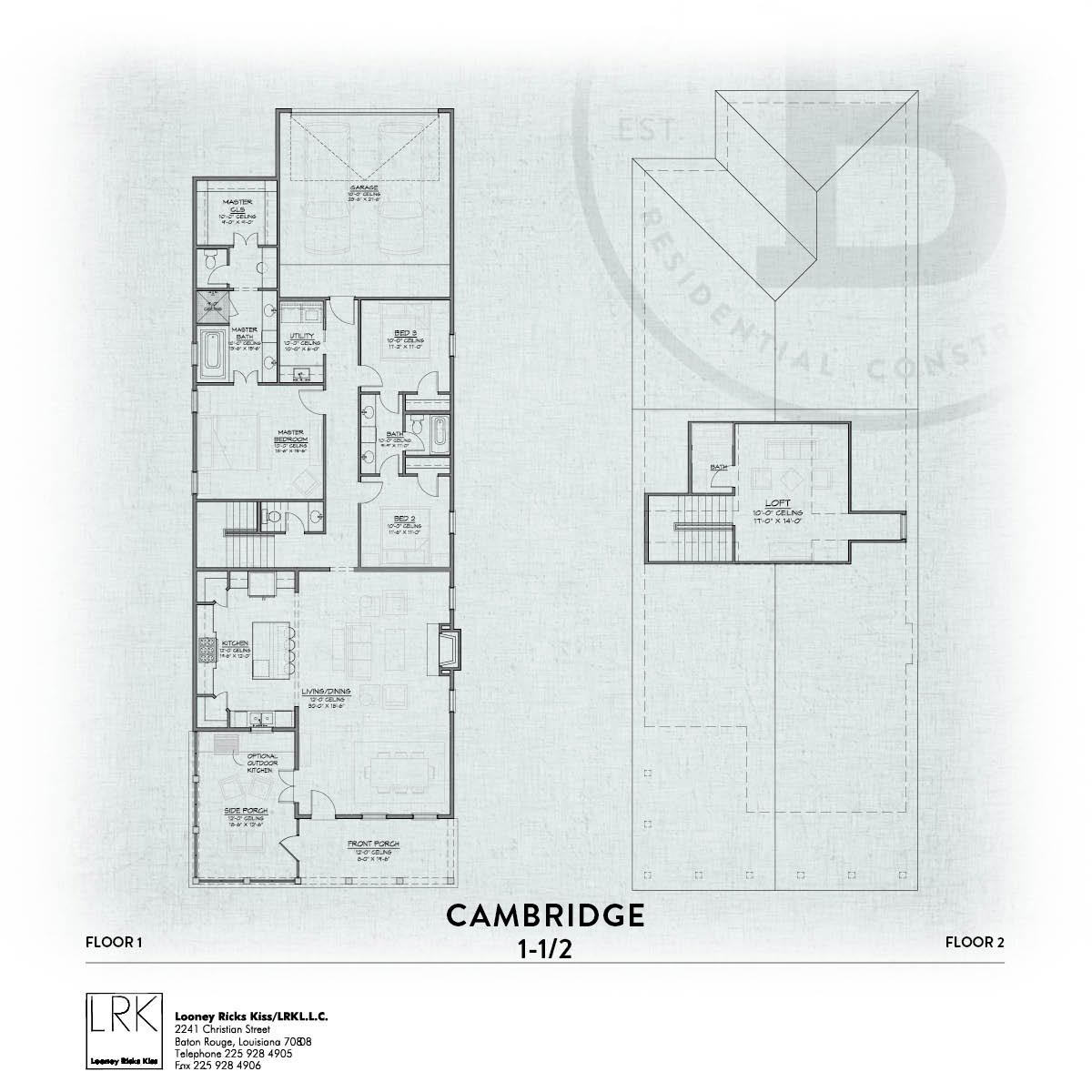 Cambridge B Floorplan