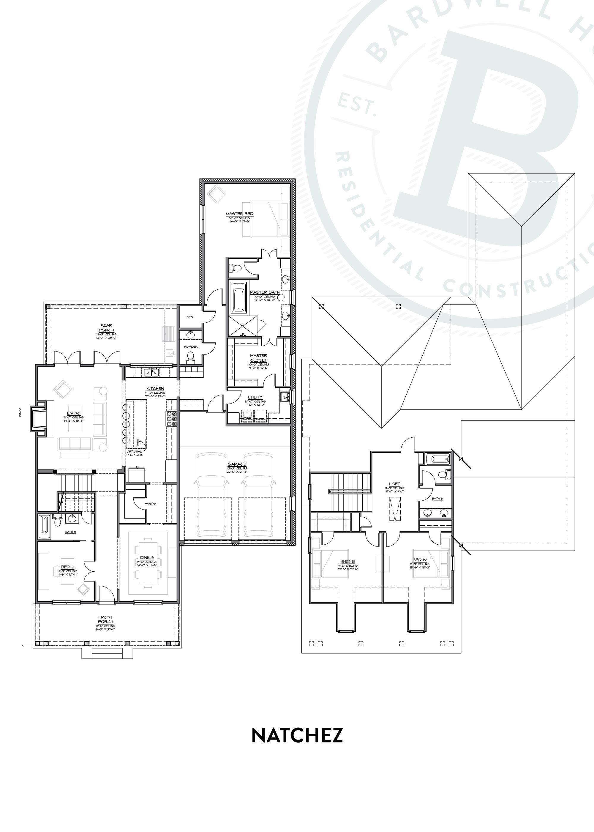 Natchez A Floorplan