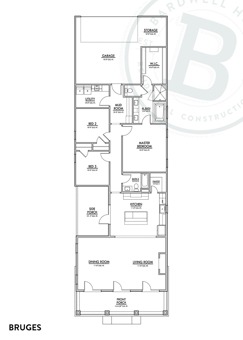 Bruges B Floorplan