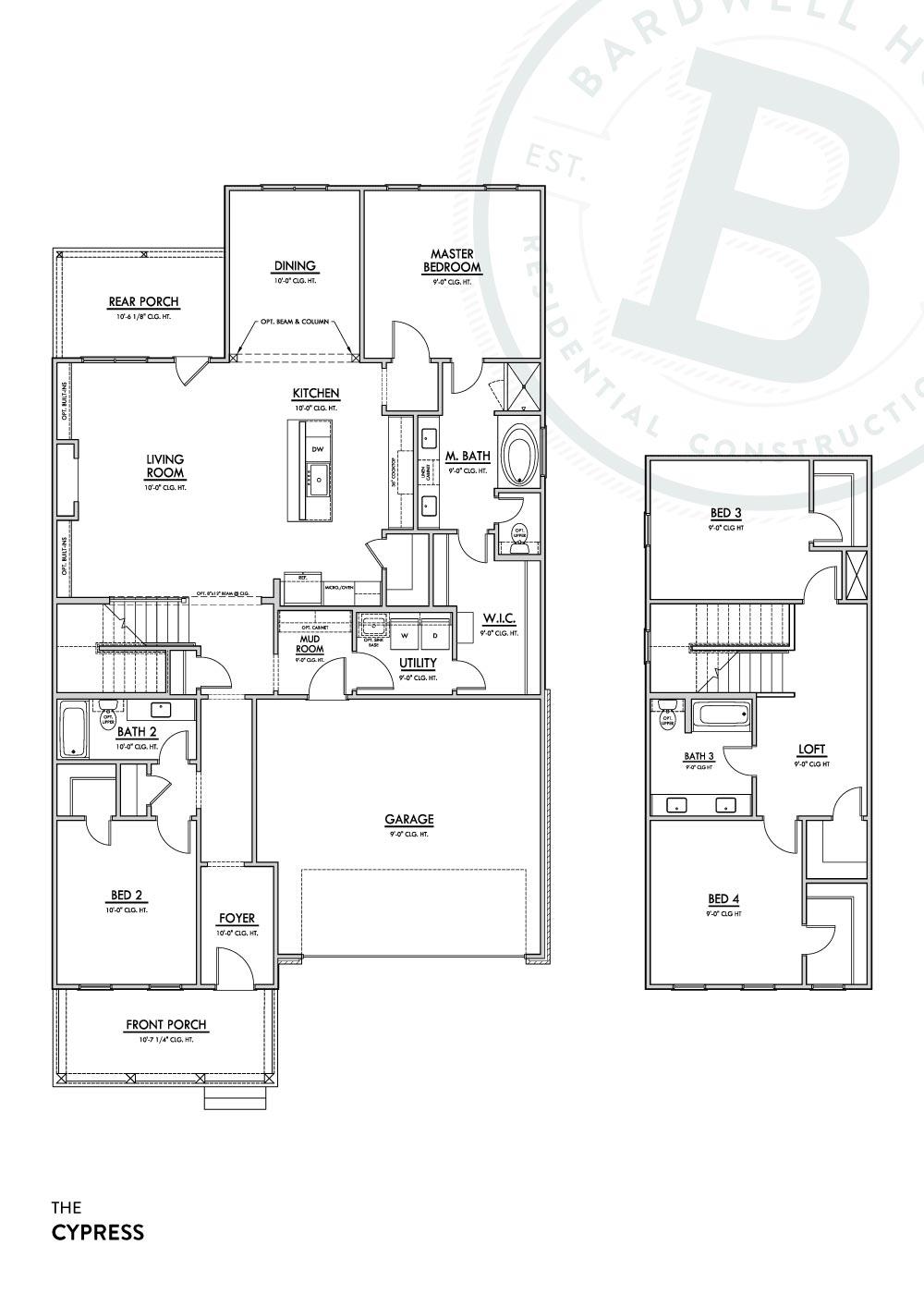 Cypress A Floorplan