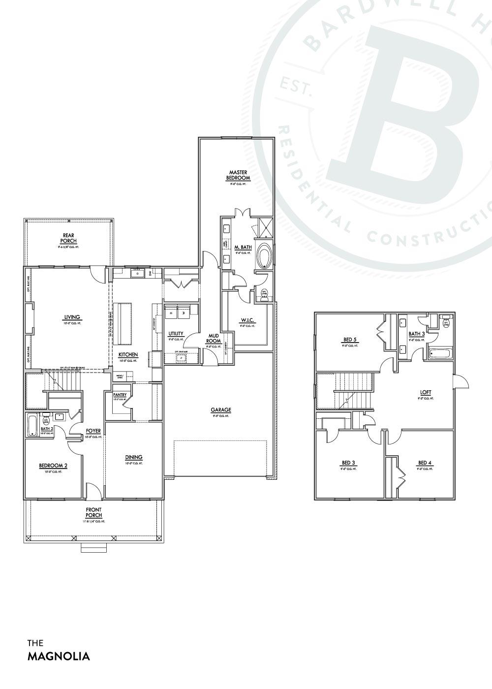 Magnolia A Floorplan