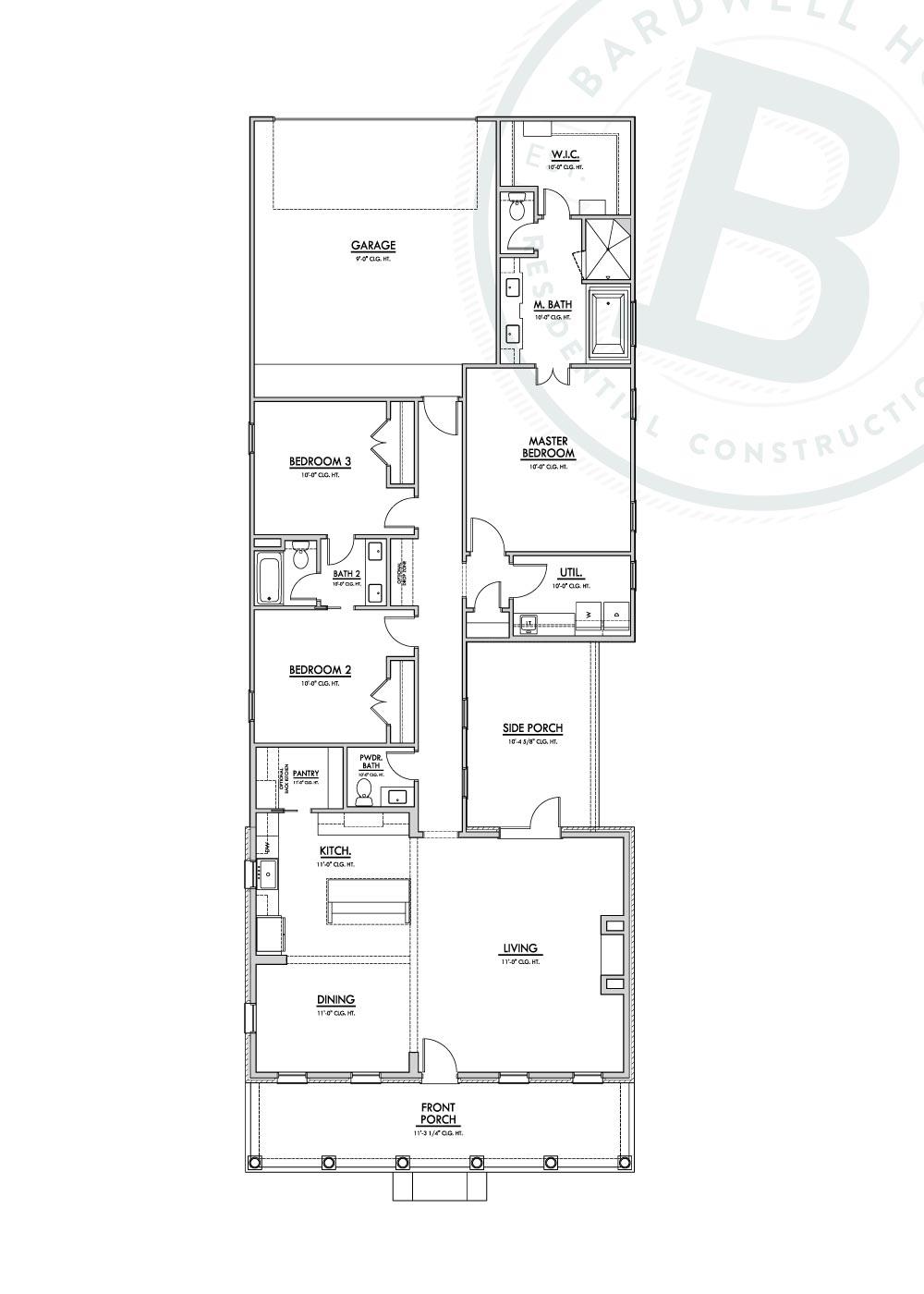 Naples Floorplan