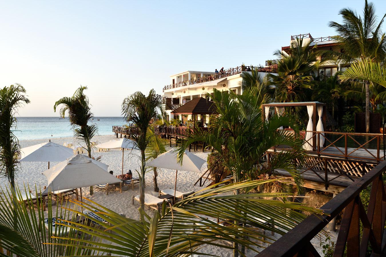 The Z hotel is the original boutique hotel on Zanzibar