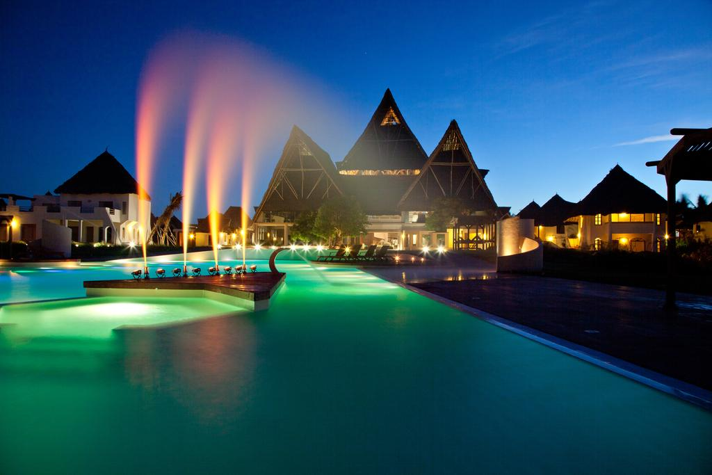 Essque Zalu Zanzibar is located next to a lush forest in Nungwi, overlooking the Indian Ocean.