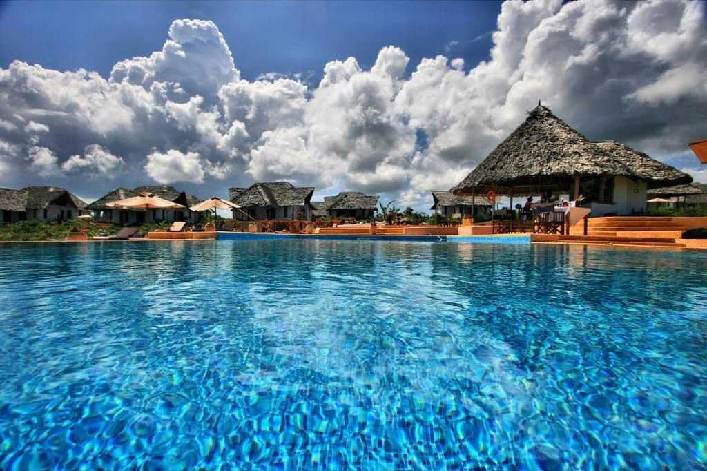 Kasha Boutique Hotel offers beachfront accommodation on the Matemwe Coast in Zanzibar.