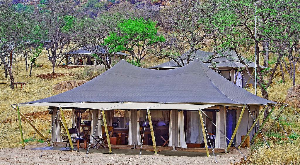 Hidden among the rocky outcrops Serengeti Migration Camp is located at the starting point of the Migration.