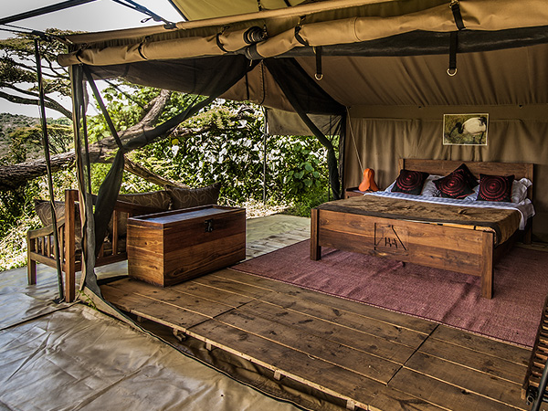 The camp is set under the Acacia forest on the north eastern side of the Ngorongoro Crater's rim.