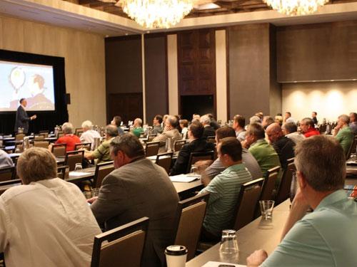 Guests attending seminar