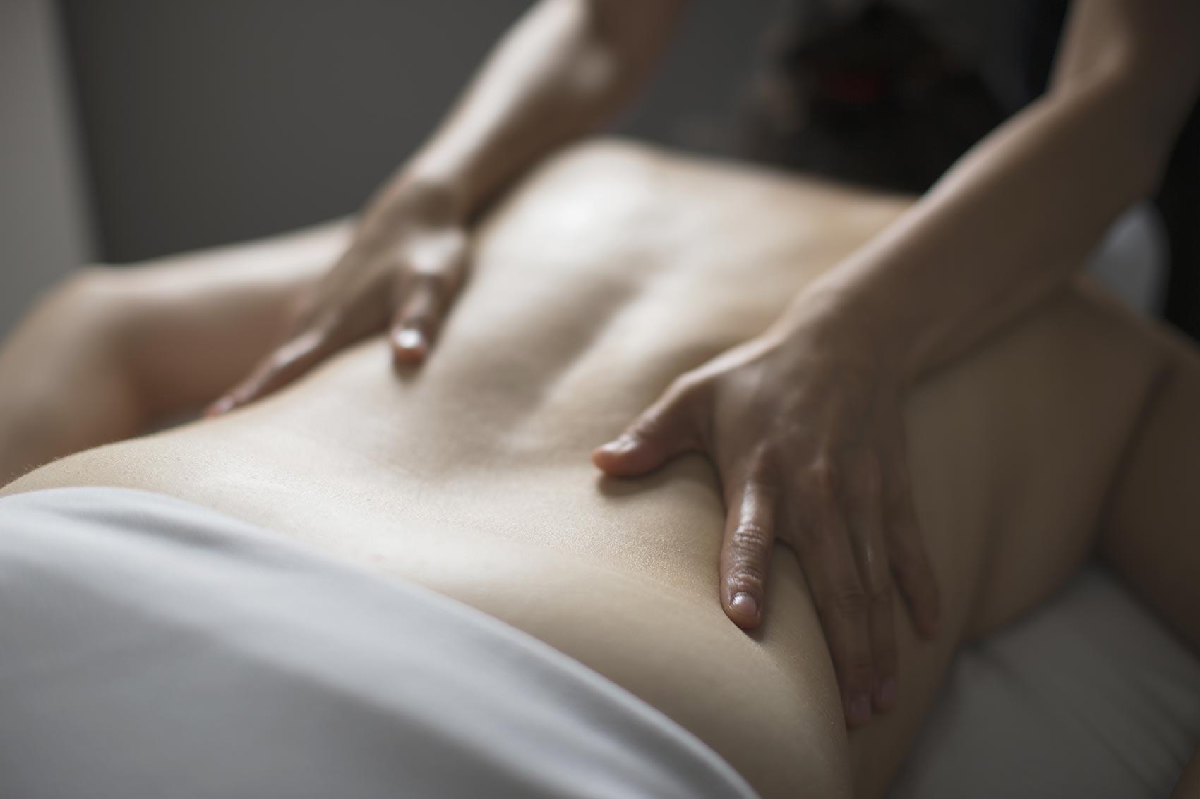 Massothérapie - Massage