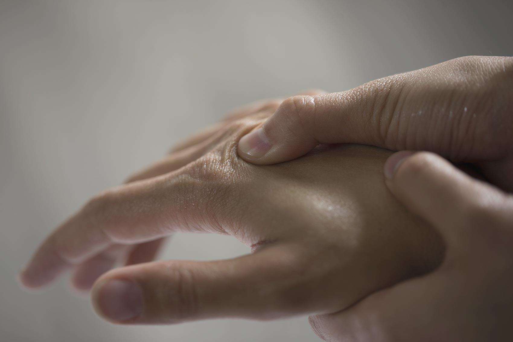 Massage de mains