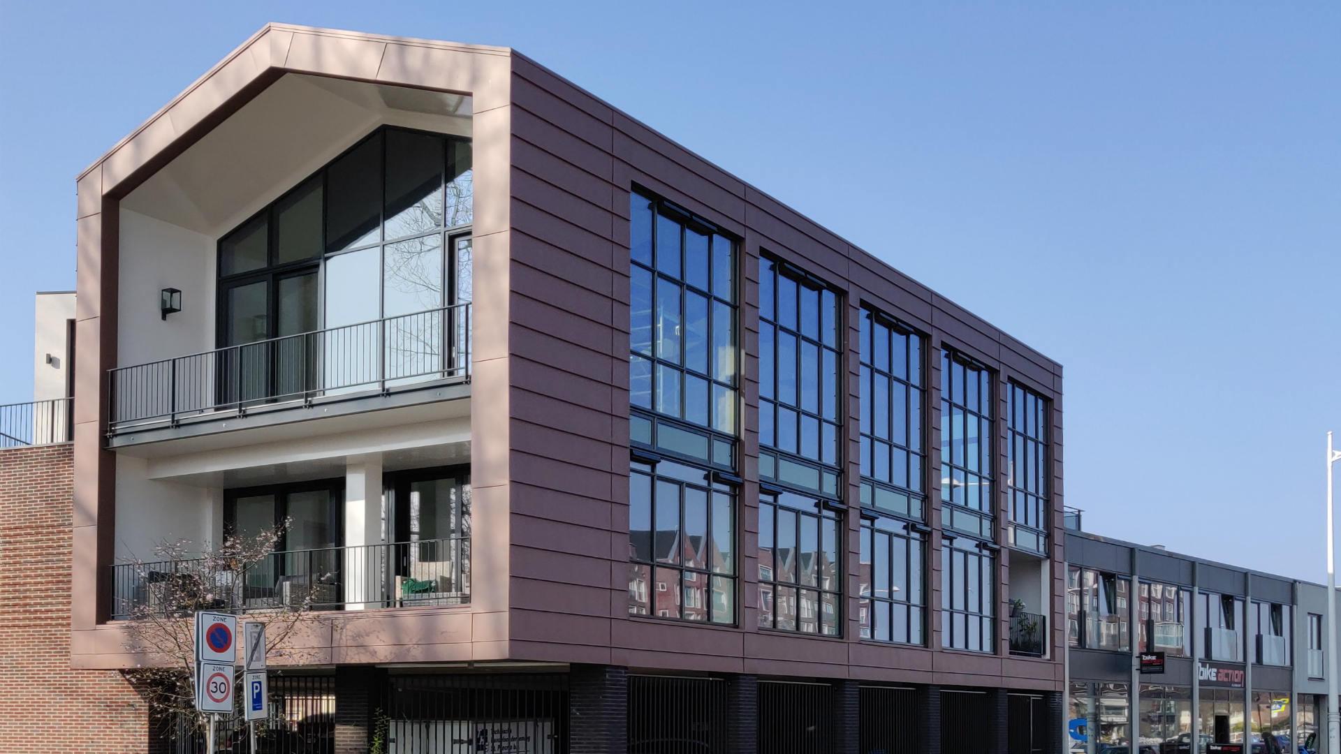 Stalen constructie en hekwerken Korte Vondelstraat Alkmaar