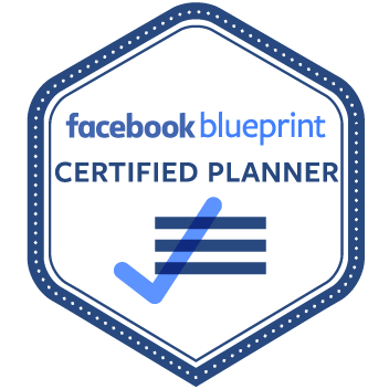 Facebook Ads Blueprint Certified Planner Badge