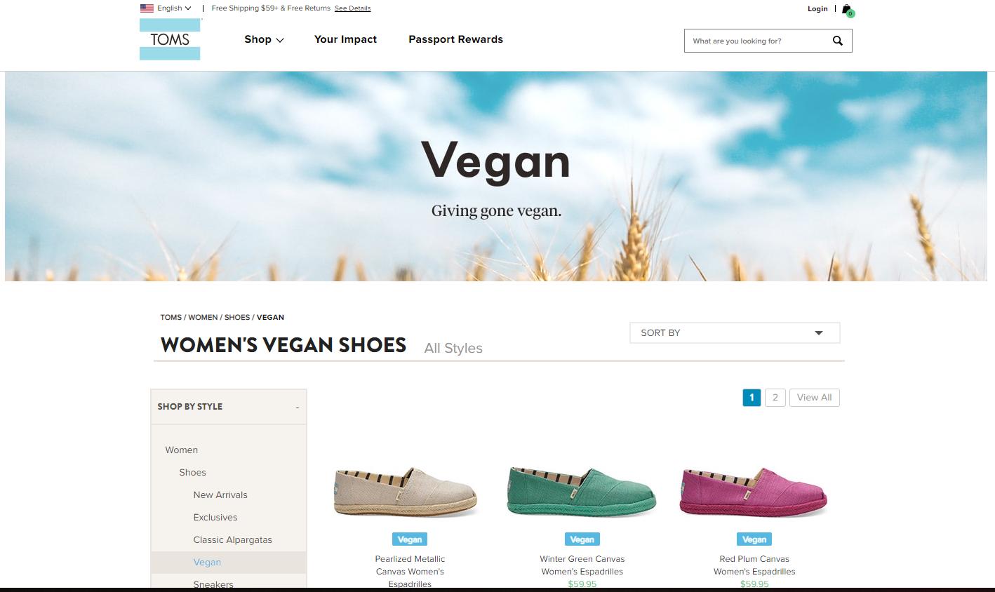 TOMS Vegan Shoes