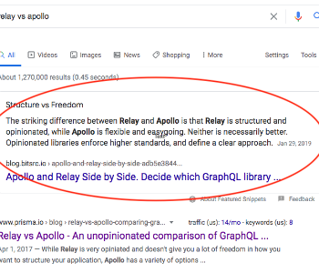 How to Earn a Featured Snippet with medium.com