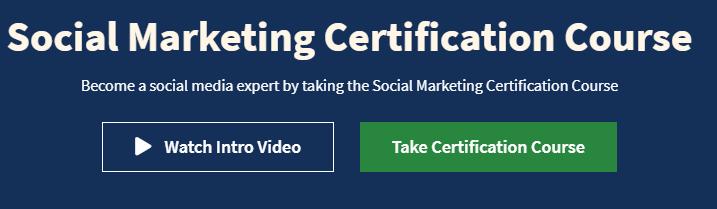 Social Media Marketing Certification Course