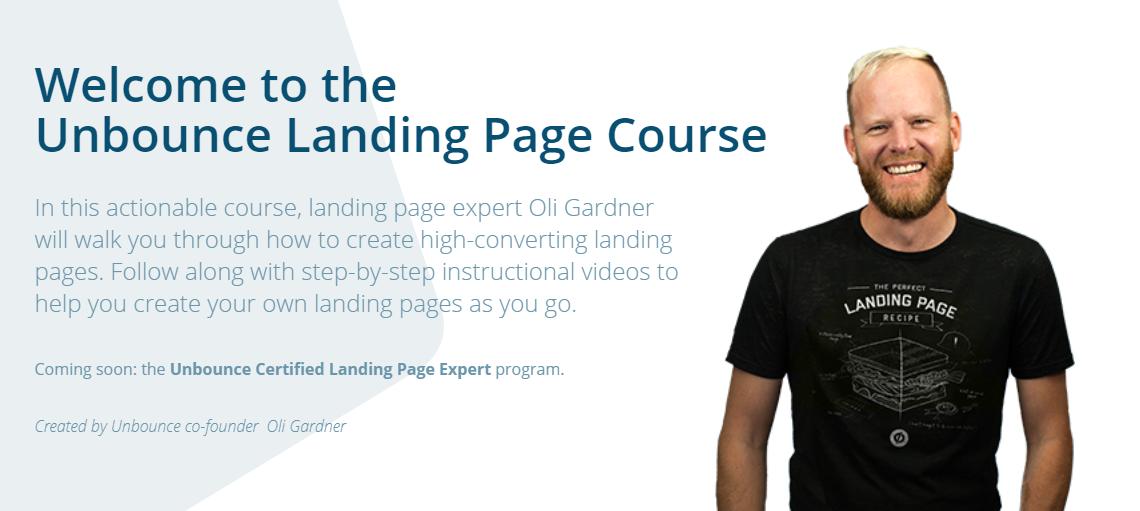 Unbounce Landing Page Course