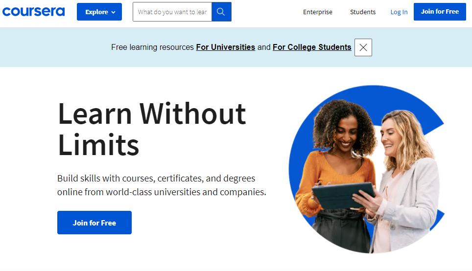 Coursera Digital Marketing Certificates
