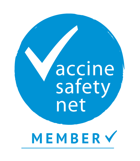 Member badge for the Vaccine Safety Net