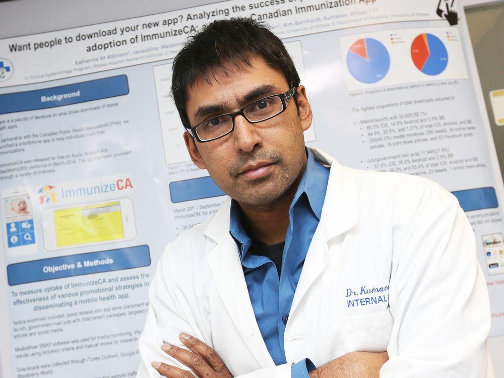Photo of Dr. Kumanan Wilson