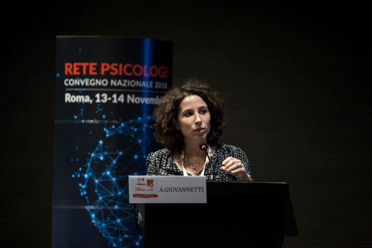 Dott.ssa Ambra Giovannetti, Psicologa Psicoterapeuta, ricercatrice e promotrice dell'adattamento al contesto italiano del progetto Ready.