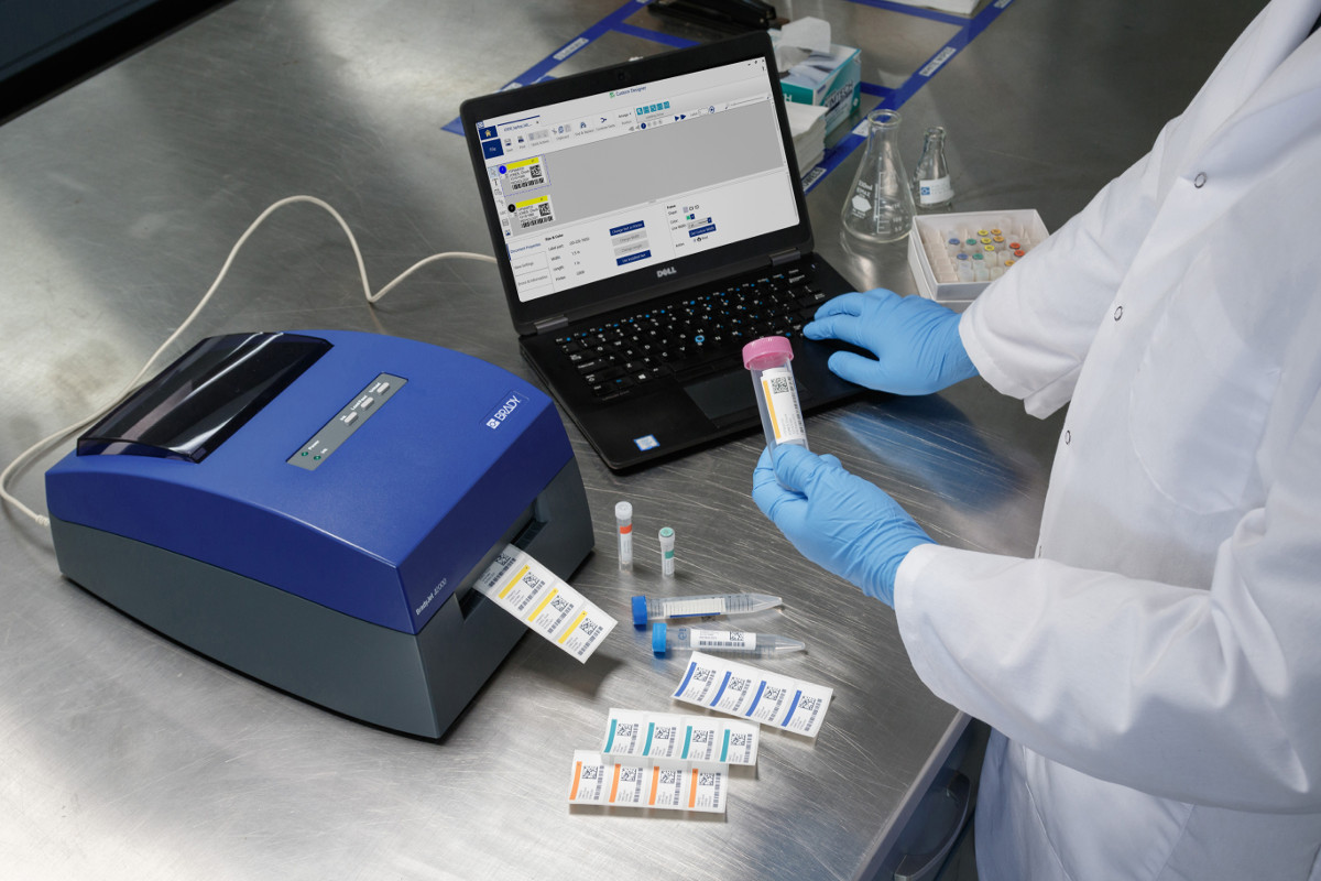 Identify samples by colour to increase productivity