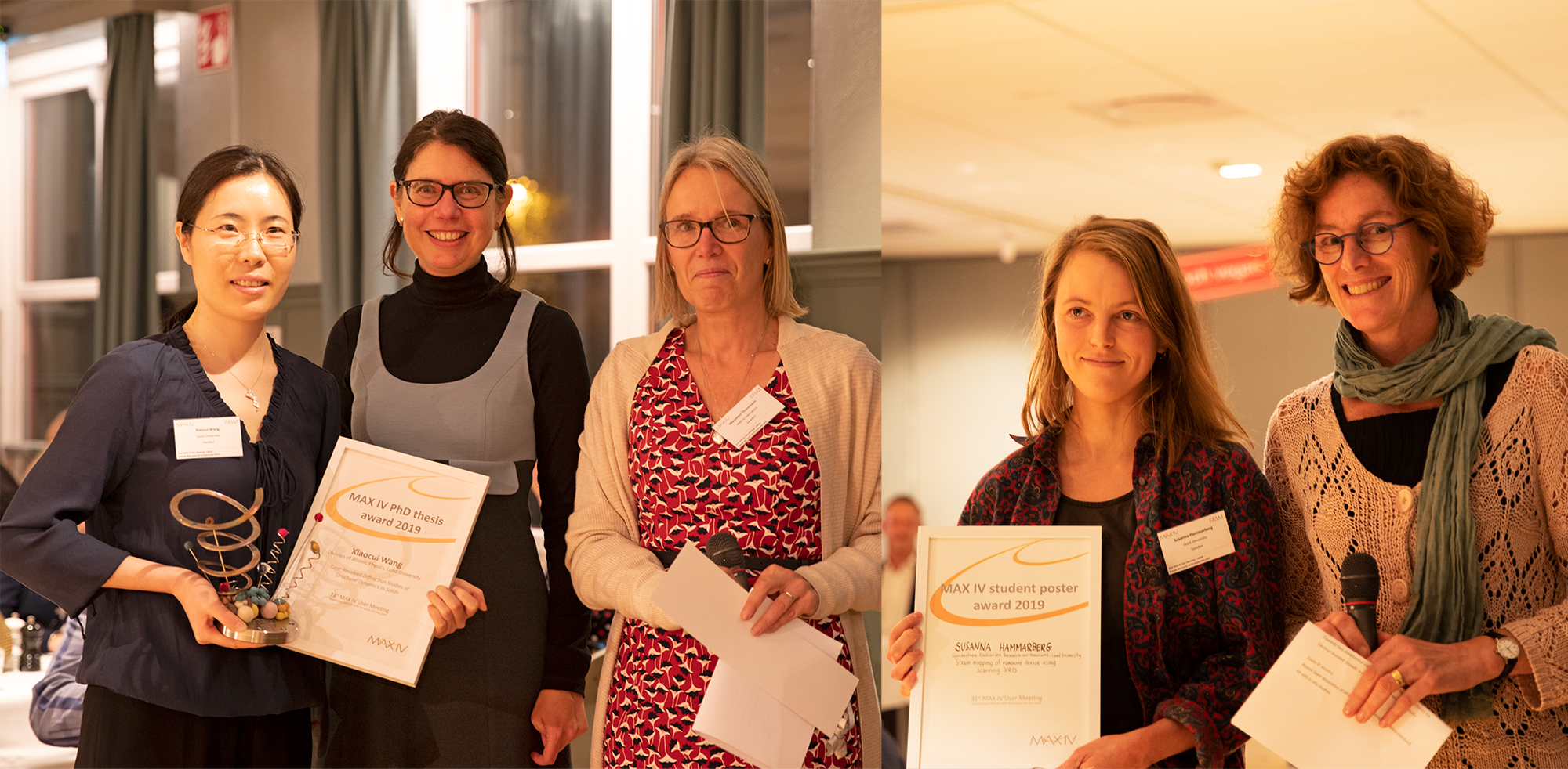 Student poster and thesis awards 2019