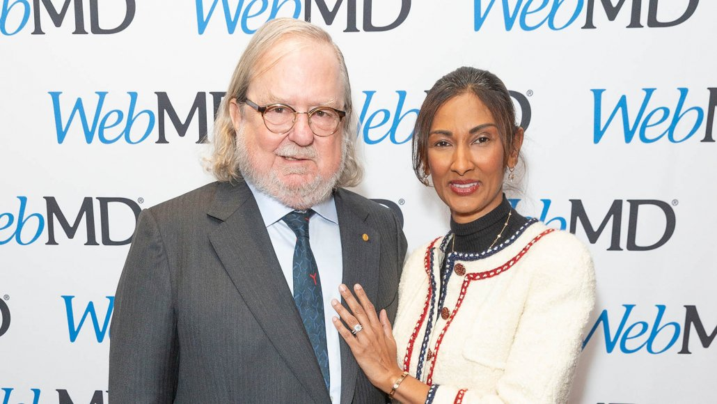 Image of Dr James Allison, Dr Padmanee Sharma. Click here for article about Lytix Biopharma.