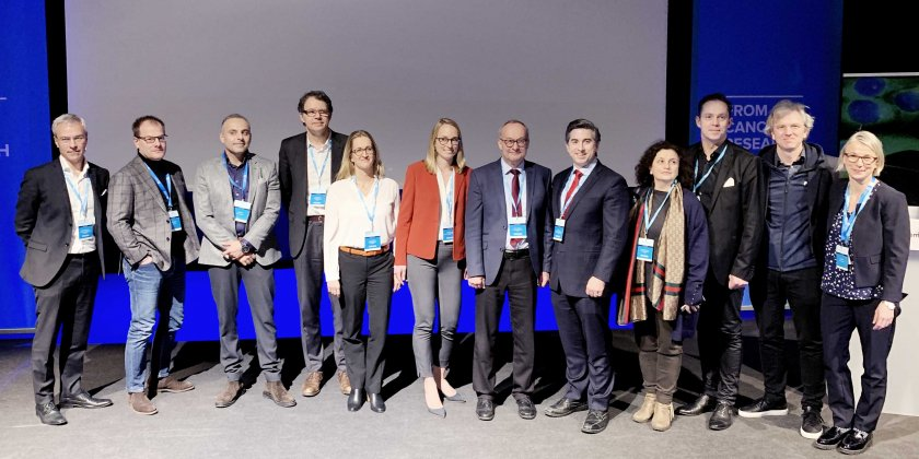 The speakers, chairpersons, introducers and organizers of Cancer Crosslinks 2020