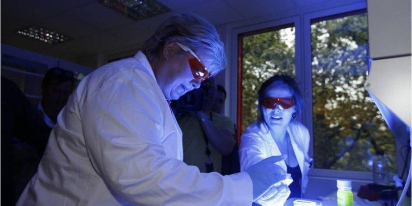 Erna Solberg visits PCI Biotech