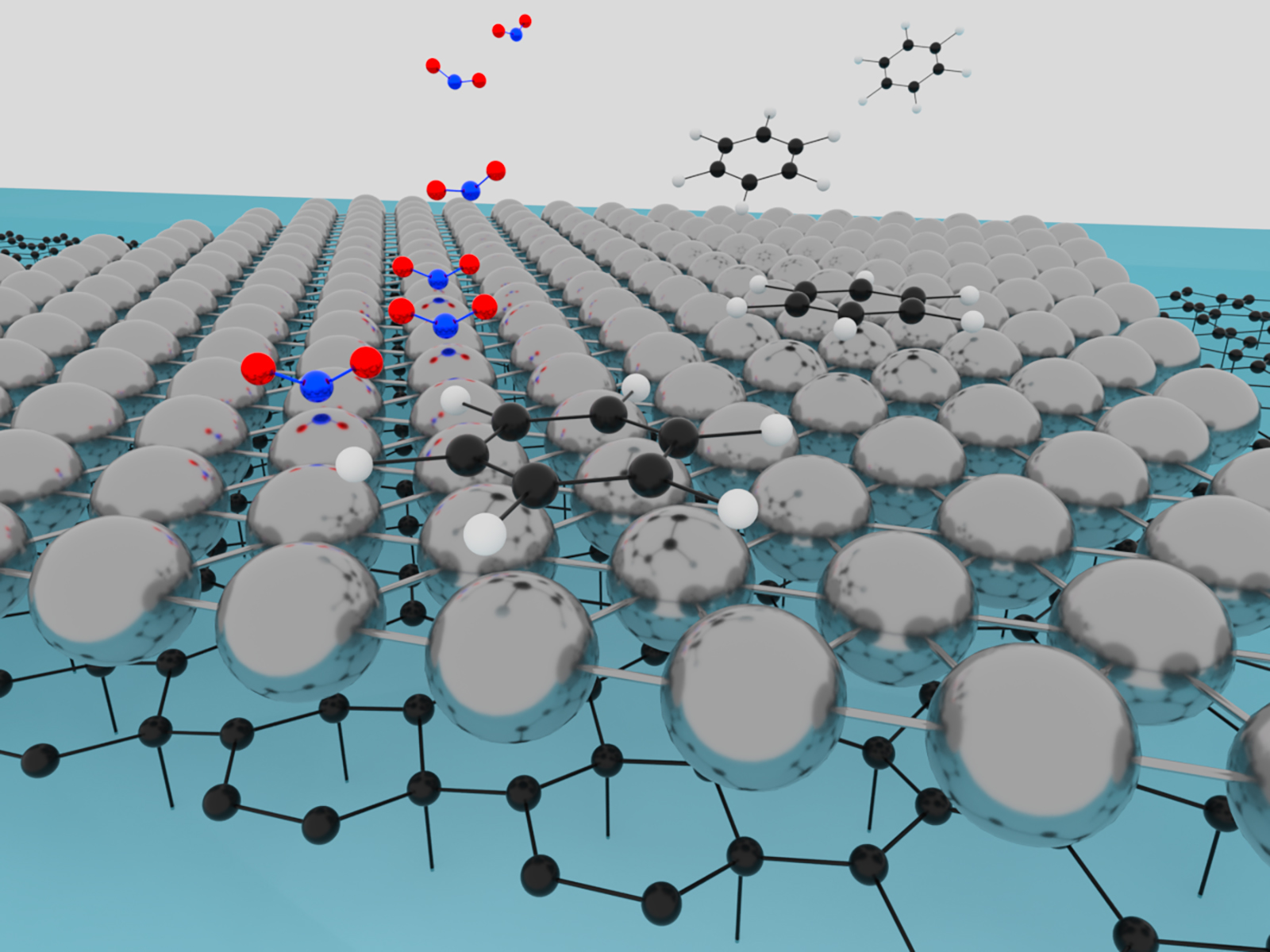 One atom thin platinum makes a great chemical sensor