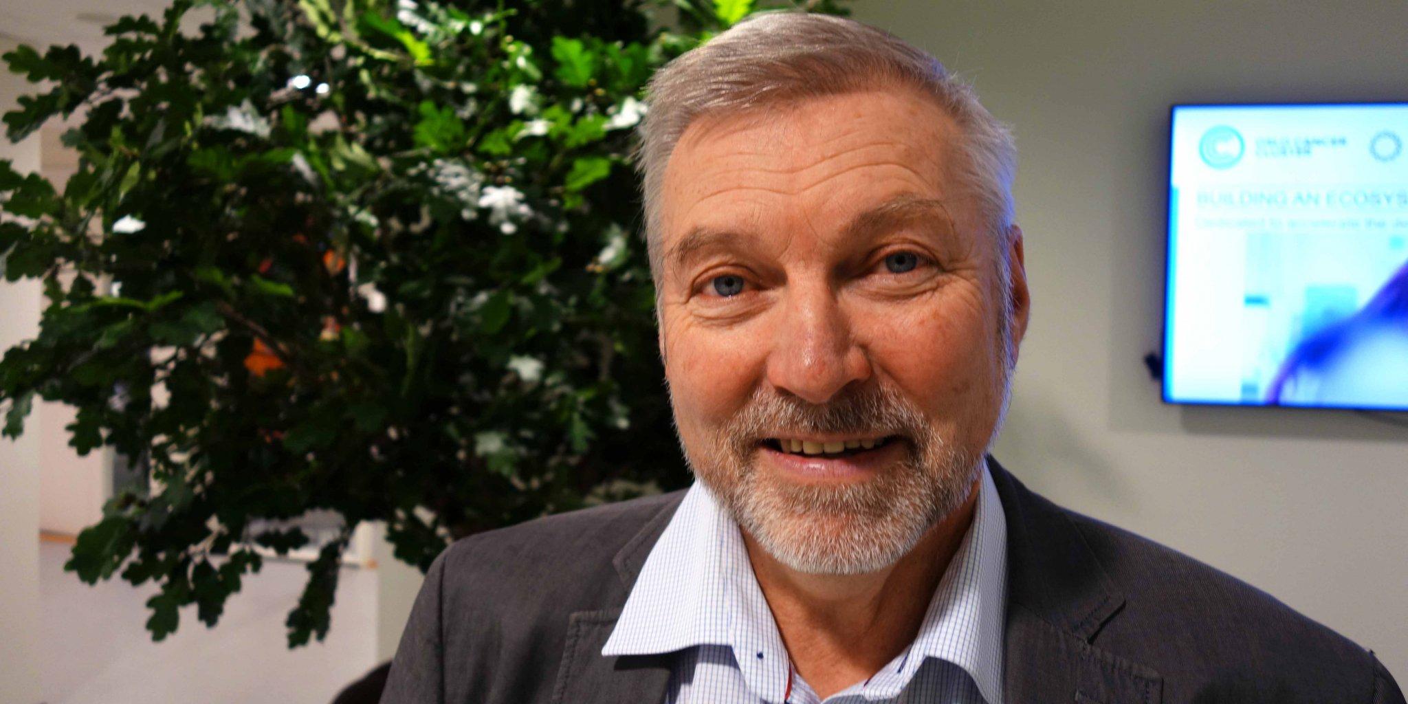 Per Håvard Kleven, founder of Kongsberg Beam Technology