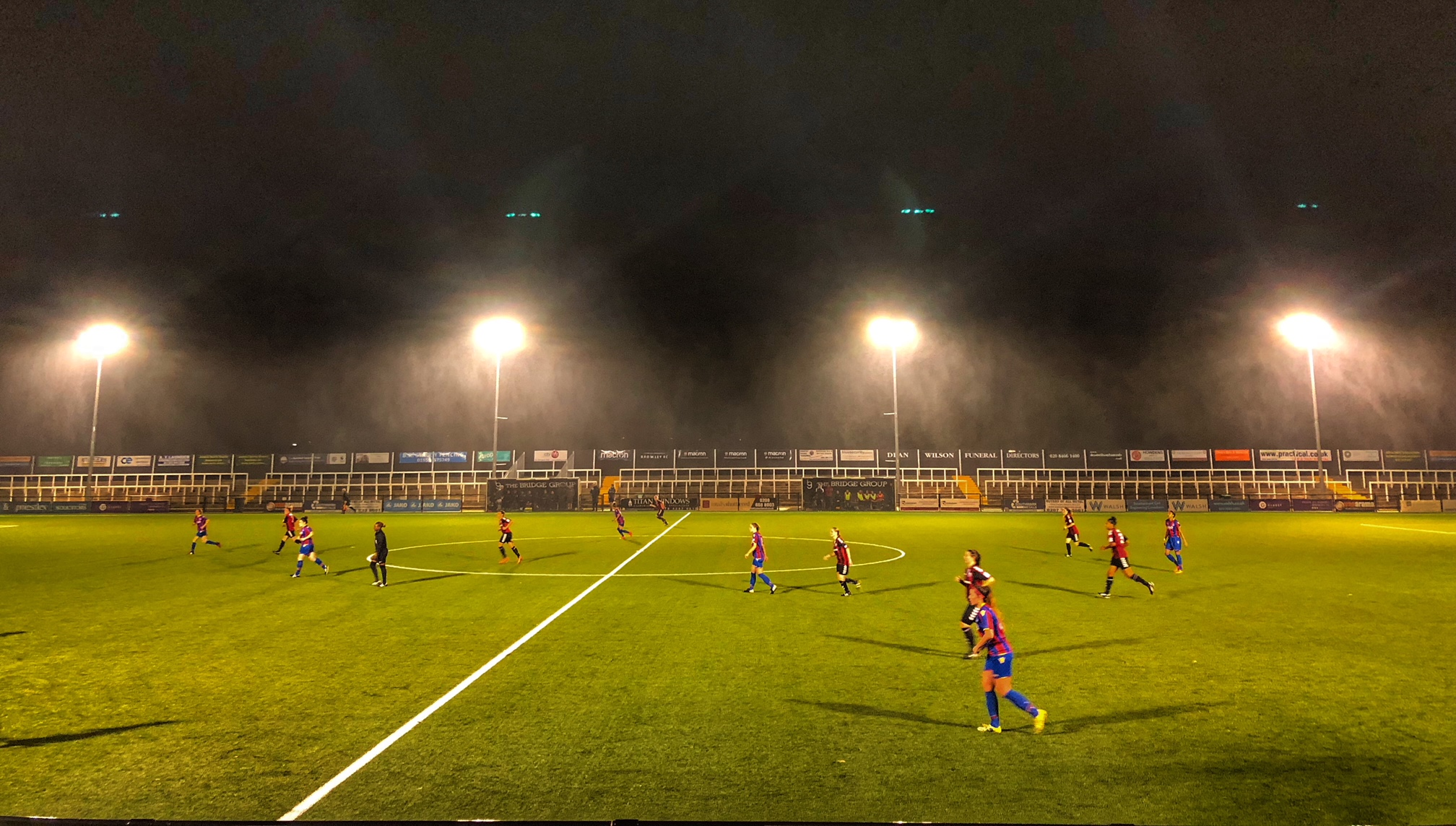 Crystal Palace weather the conditions to end Rookettes