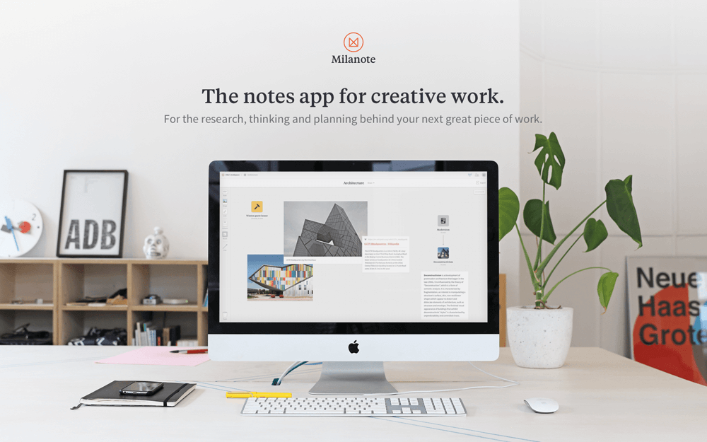 Milanote - the best way to organise creative work