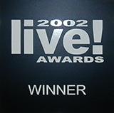 Live Award Winner  2002