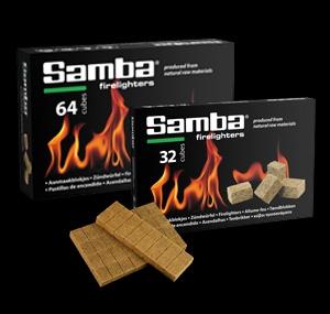 Samba Wooden Firelighters Box