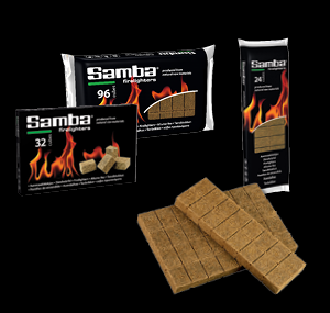 Samba Wooden Firelighter Tablets