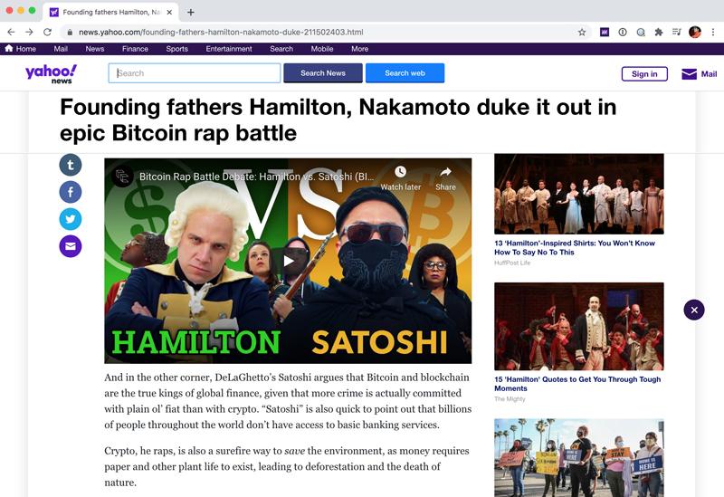 Rhyme Combinator Press Yahoo News
